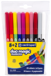 popisovač 2599/10 duo magic v etui-duo magické značkovače