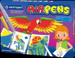 speciál Centropen 1549/8+3 AIR pen Magic-foukací fixy na papír