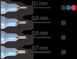 liner Centropen 2631 0,1  modrý(8595013624890)