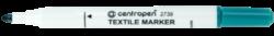 značkovač 2739 na textil zelený-značkovač Centropen