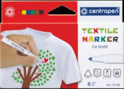 značkovač 2739 na textil  6ks-značkovač Centropen