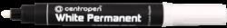 značkovač 8586 bílý-permanent Centropen