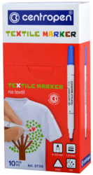 značkovač 2739 na textil žlutozelený(8595013632116)