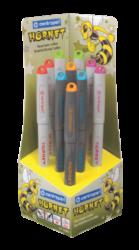 pero bombičkové 2165/10  Hornet s kul.hrotem 10ks stojánek-bombičkové pero