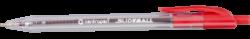 kuličkové pero Slideball Clicker 2225 červený-šířka stopy 0,3 mm