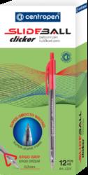 kuličkové pero Slideball Clicker 2225 černý(8595013633991)