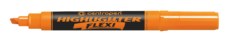 zvýrazňovač 8542 flexi  oranžový-zvýrazňovač Centropen