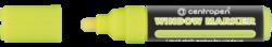 značkovač 9121 křídový žlutý 2-3mm-křídový Centropen