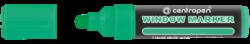 značkovač 9121 křídový zelený 2-3mm-křídový Centropen