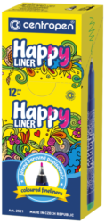 liner Centropen 2521 0,3 žlutý(8595013636671)