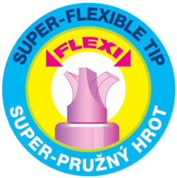 zvýrazňovač 8542 flexi soft růžový(8595013636961)