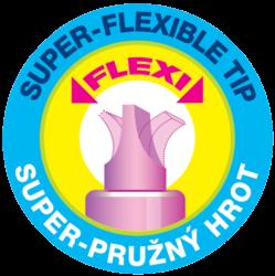 zvýrazňovač 8542 flexi soft fialový(8595013636978)