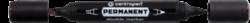 značkovač 1666 černý double-permanent Centropen