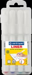 liner Centropen 2811 0,3 4ks-liner Centropen
