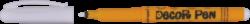značkovač 2628 Decorpen bílý+černý(8595013646731)