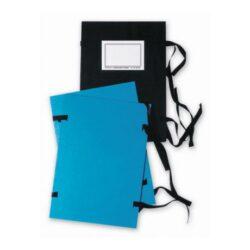 desky s tkanicí A4  modré 17501