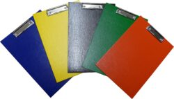 podložka A4 jednodeska lamino-rozměr: 220 x 323 x 7 mm, mix barev