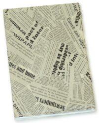obal na doklady obyčejný noviny mix 034-rozměr: 100 x 130 x 5 mm