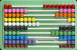 počitadlo se stojánkem BR-226 plast mix barev(8680628001058)