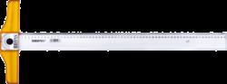 pravítko příložník 65cm s úhloměrem BR-111