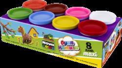 model.hmota NC-4150 Play Dough  8x130g-Modelovací hmota rozvíjí dětskou představivost, kreativitu a fantazii.