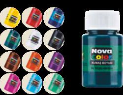 barvy na textil NC-192 30ml 12ks(8680628006732)