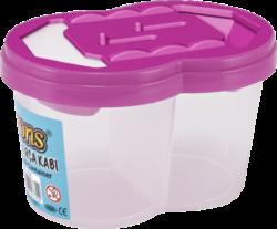 kelímek na vodu BR-256 dvojitý-plastový kelímek na výtvarnou výchovu
