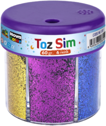 glitry NC-557 6x10g mix barev