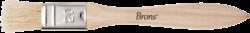 štětec BR plochý přírodní 20mm BR-2131