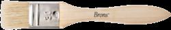 štětec BR plochý přírodní 30mm BR-2132