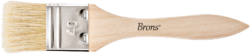 štětec BR plochý přírodní 40mm BR-2133