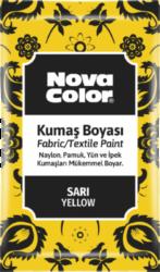 barva na textil prášková žlutá 12g NC-900-barva pro barvení látek