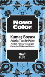 barva na textil prášková modrá 12g NC-902-barva pro barvení látek