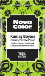 barva na textil prášková zelená 12g NC-903-barva pro barvení látek