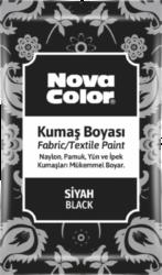 barva na textil prášková černá 12g NC-904-barva pro barvení látek