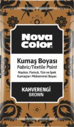 barva na textil prášková hnědá 12g NC-905-barva pro barvení látek