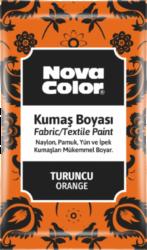 barva na textil prášková oranžová 12g NC-906-barva pro barvení látek