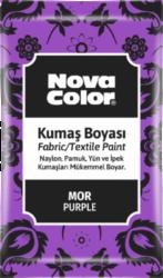 barva na textil prášková fialová 12g NC-907-barva pro barvení látek