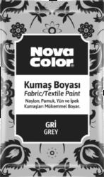 barva na textil prášková šedá 12g NC-908-barva pro barvení látek