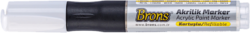 popisovač akrylový bílý BR-4014(8681861007159)