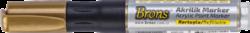 popisovač akrylový zlatý BR-4020(8681861007210)