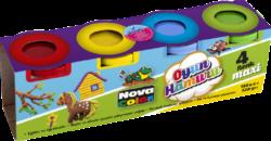 model.hmota NC-4105 Play Dough  4x130g-Modelovací hmota rozvíjí dětskou představivost, kreativitu a fantazii.