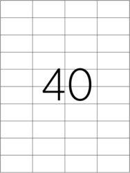 etikety A4  52,5 x 29,7   40ks(8698806200285)