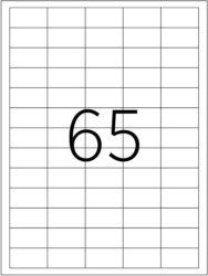 etikety A4  38,1 x 21,2   65ks(8698806200735)