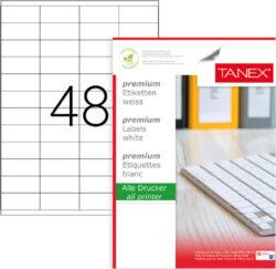 etikety A4  52,5 x 23   48ks-100 listů