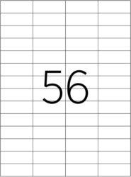 etikety A4  52,5 x 21,2   56ks(8698806201053)