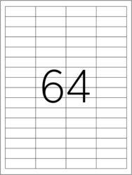 etikety A4  48,5 x 16,9   64ks(8698806201350)