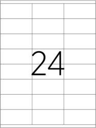etikety A4  70 x 36   24ks(8698806201435)