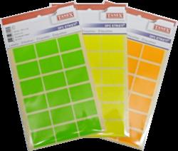 etikety v sáčku neon 22 x 32 žluté 90ks OCF-116(8698806383162)