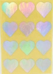a samol.STC-306 srdce metal stříbrné 31 x 31 60ks-5 aršíků
